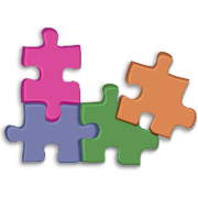 Jigsaw pieces Microsoft Offices image used with permission